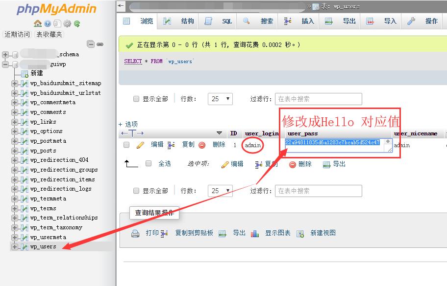 Wordpress网站后台登录名及密码错误该怎么办